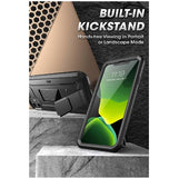 IPHONE 11 FULL BODY RUGGED PROTECTIVE CASE WITH SCREEN PROTECTOR BLACK | SUPCASE
