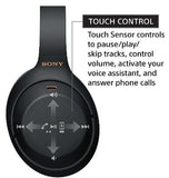 SONY WH1000XM4 NOISE CANCELLING WIRELESS HEADPHONES BLACK WITH ALEXA VOICE CONTROL