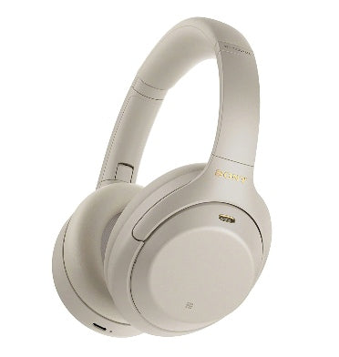 SONY WH1000XM4 NOISE CANCELLING WIRELESS HEADPHONES SILVER WITH ALEXA VOICE CONTROL