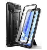 GOOGLE PIXEL 4 XL FULL BODY RUGGED PROTECTIVE CASE WITH SCREEN PROTECTOR BLACK | SUPCASE