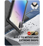 SAMSUNG GALAXY NOTE 10 ARES SERIES FULL BODY PROTECTIVE CASE BLACK/CLEAR | I-BLASON