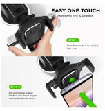 IOTTIE EASY ONE TOUCH 4 DASH/WINDOW CAR MOUNT PHONE HOLDER