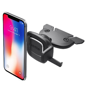 IOTTIE EASY ONE TOUCH 4 CD SLOT CAR MOUNT PHONE HOLDER