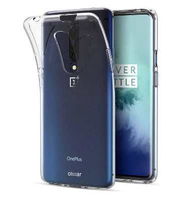 ONEPLUS 7T PRO ULTRA SLIM TRANSPARENT CASE CLEAR | OLIXAR
