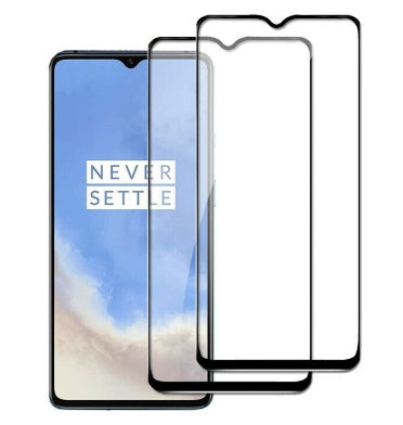 ONEPLUS 7 FULL TEMPERED GLASS SCREEN PROTECTOR 2PK
