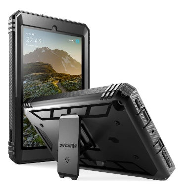"AMAZON FIRE 7"" TABLET (2019) FULL BODY RUGGED PROTECTIVE CASE BLACK 