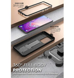 SAMSUNG GALAXY S20 ULTRA FULL BODY RUGGED PROTECTIVE CASE BLACK | SUPCASE