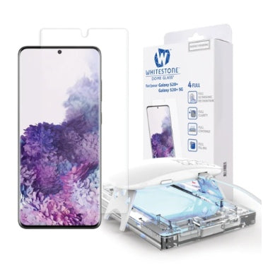 SAMSUNG GALAXY S20+ TEMPERED SCREEN PROTECTOR 3D CURVED DOME GLASS | WHITESTONE