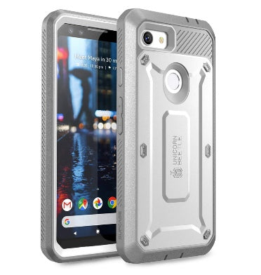 GOOGLE PIXEL 3A FULL BODY RUGGED PROTECTIVE CASE WITH SCREEN PROTECTOR WHITE | SUPCASE