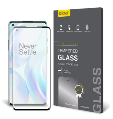 ONEPLUS 8 PREMIUM TEMPERED GLASS SCREEN PROTECTOR | OLIXAR