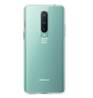 ONEPLUS 8 BUMPER CASE CLEAR