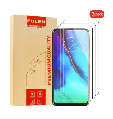 MOTO G8 POWER PREMIUM TEMPERED GLASS SCREEN PROTECTOR 3PK | PULEN