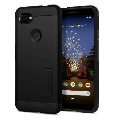 GOOGLE PIXEL 3A XL PREMIUM TOUGH ARMOR CASE BLACK | SPIGEN