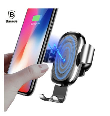 BASEUS WIRELESS CAR CHARGER AIR VENT MOUNT