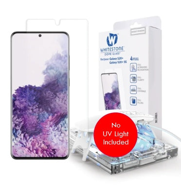 SAMSUNG GALAXY S20+ TEMPERED SCREEN PROTECTOR 3D CURVED DOME GLASS REPLACEMENT KIT | WHITESTONE