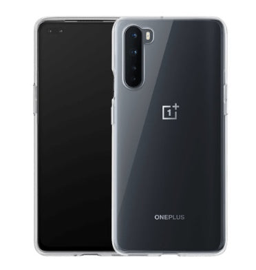 ONEPLUS NORD TRANSPARENT BUMPER CASE CLEAR