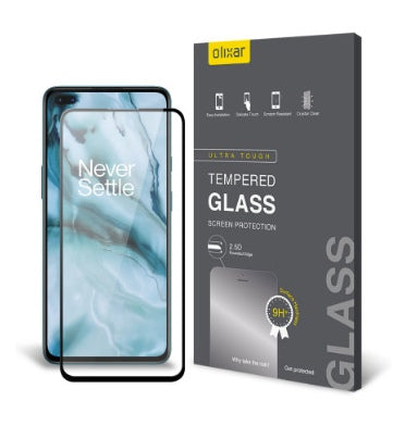 ONEPLUS NORD PREMIUM TEMPERED GLASS SCREEN PROTECTOR | OLIXAR