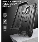 ONEPLUS 8 PRO PREMIUM FULL BODY RUGGED REVOLUTION CASE BLACK | POETIC