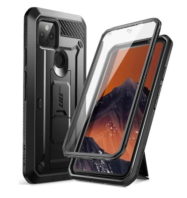 GOOGLE PIXEL 5 FULL BODY RUGGED PROTECTIVE CASE BLACK | SUPCASE