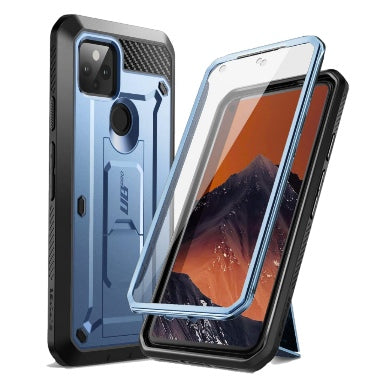 GOOGLE PIXEL 5 FULL BODY RUGGED PROTECTIVE CASE SLATE BLUE | SUPCASE