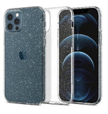 IPHONE 12 PRO MAX PREMIUM SLIM LIQUID CRYSTAL GLITTER CASE CLEAR | SPIGEN