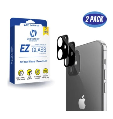 IPHONE 12 MINI PREMIUM TEMPERED GLASS CAMERA PROTECTOR 2PK | WHITESTONE