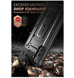 SAMSUNG GALAXY S21+ FULL BODY RUGGED PROTECTIVE CASE BLACK | SUPCASE