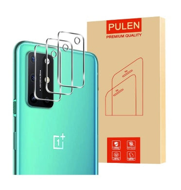 ONEPLUS 8T PREMIUM TEMPERED GLASS CAMERA PROTECTOR 3PK | PULEN