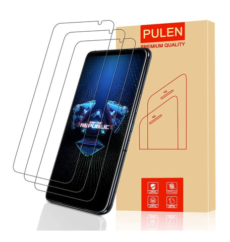 ASUS ROG PHONE 5 PREMIUM TEMPERED GLASS SCREEN PROTECTOR 3PK | PULEN
