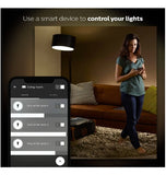 PHILIPS HUE LED BULB WHITE WORKS WITH AMAZON ECHO 4PK
