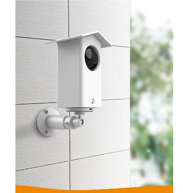 WYZE CAM PAN OUTDOOR WALL MOUNT PROTECTIVE COVER & BRACKET WHITE