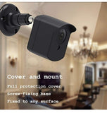 WYZE CAM WALL MOUNT PROTECTIVE COVER & BRACKET BLACK