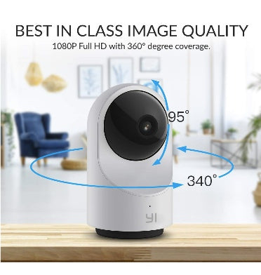 YI SMART DOME HOME SECURITY CAMERA