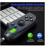 MOBILE GAMEPAD WIRELESS GAMING CONTROLLER