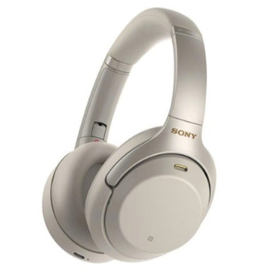 SONY WH1000XM3 NOISE CANCELLING WIRELESS HEADPHONES SILVER WITH ALEXA VOICE CONTROL