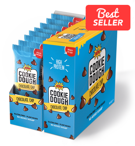 Chocolate Chip Cookie Dough Bundle (16 dough bars)