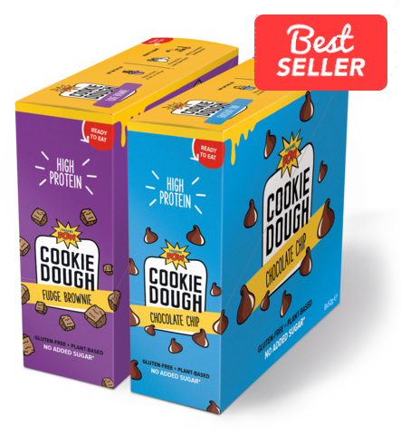 Chocolate Lovers' Cookie Dough Bundle (16 x dough bars)