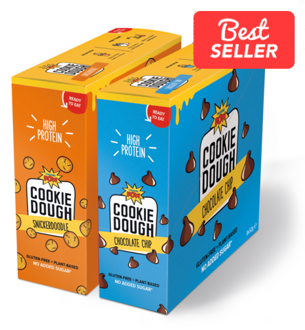 Choc Chip & Snickerdoodle Cookie Dough Bundle (16 dough bars)