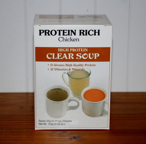 Protein Soup-Clear Chicken Soup