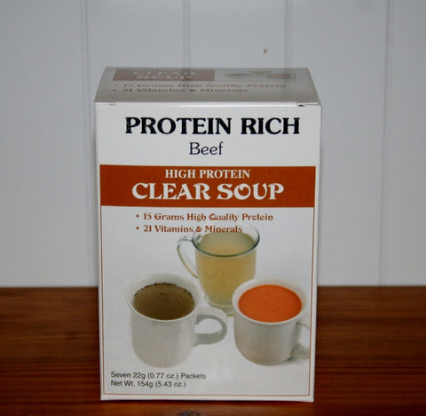 Protein Soup-Clear Beef Soup