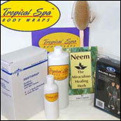Tropical Spa Body Wrap (take-home kit)