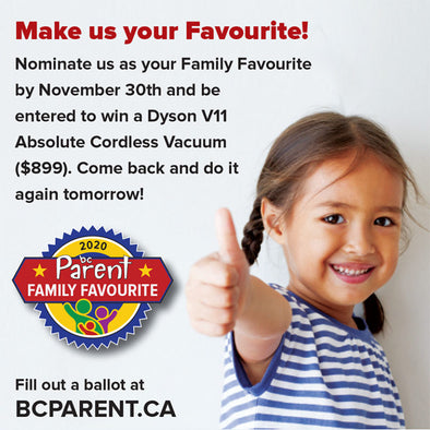 Vote us your BC PARENT Family favourite!