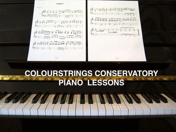 Piano Lessons 5-18yrs