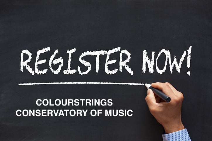 COLOURSTRINGS CONSERVATORY REGISTER NOW