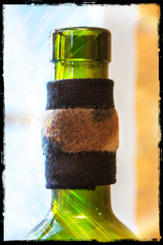 DripTeez™ Wine Bottle Drip Stopper with Camouflage Band