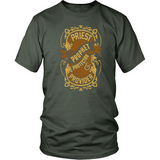 Priest, Prophet, Protector, Provider Christian T-Shirt (Multiple Colors) - Paraclete Tees  - 7