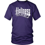 Holiness is Still Right Christian T-Shirt (Mens/Unisex) (White Letters) (Multiple Colors) - Paraclete Tees  - 3