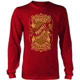 Priest, Prophet, Protector, Provider Christian Long Sleeve T-Shirt (Multiple Colors) - Paraclete Tees  - 2