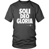Soli Deo Gloria Christian T-Shirt (Mens/Unisex) (Multiple Colors) - Paraclete Tees  - 6