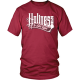 Holiness is Still Right Christian T-Shirt (Mens/Unisex) (White Letters) (Multiple Colors) - Paraclete Tees  - 4